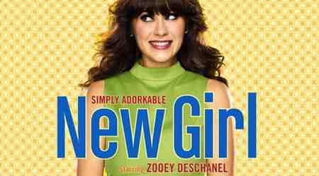 Zooey Deschanel in the new Fox sitcom New Girl