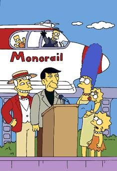 Lyle Lanley Leonard Nimoy The Simpsons