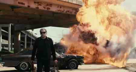Nicolas Cage demonstrates how to Drive Angry in 3D