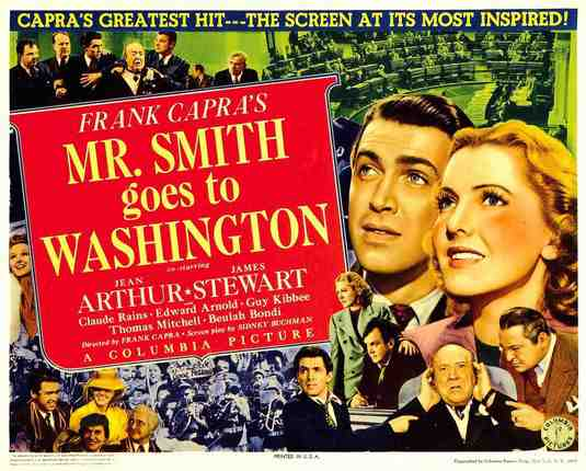 The Poster for Mr. Smith Goes To Washington