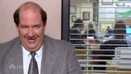 Brian Baumgartner as Kevin Malone in The Office The Convict