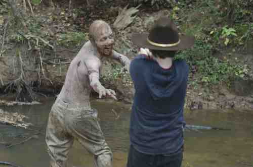 Carl zombie S02E11