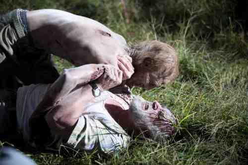 Dale zombie attack S02E11