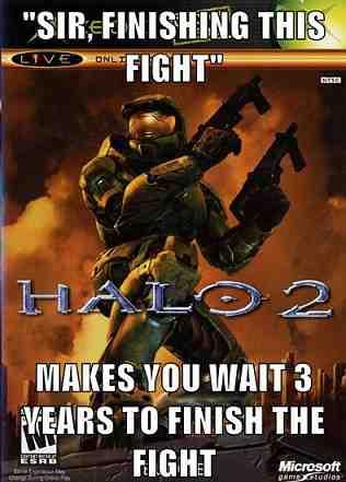Halo 2 Ending meme