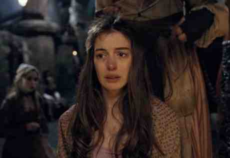 Anne Hathaway suffers as Fantine in Tom Hooper's Les Miserables