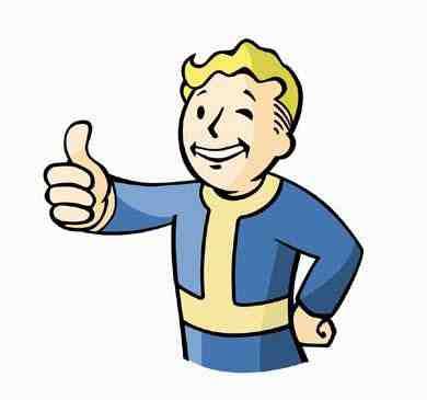 Vault Boy Thumbs Up