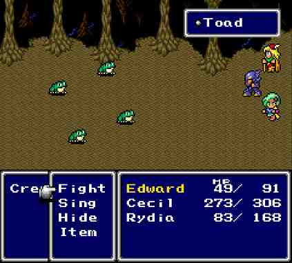 Edward The Spoony Bard Final Fantasy IV
