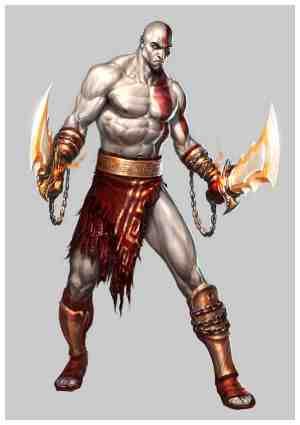 Hello My name is Kratos
