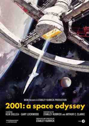 Poster for 2001: A Space Odyssey