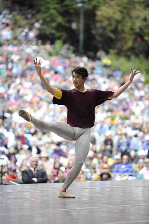 San Francisco Ballet Stern Grove - Solo