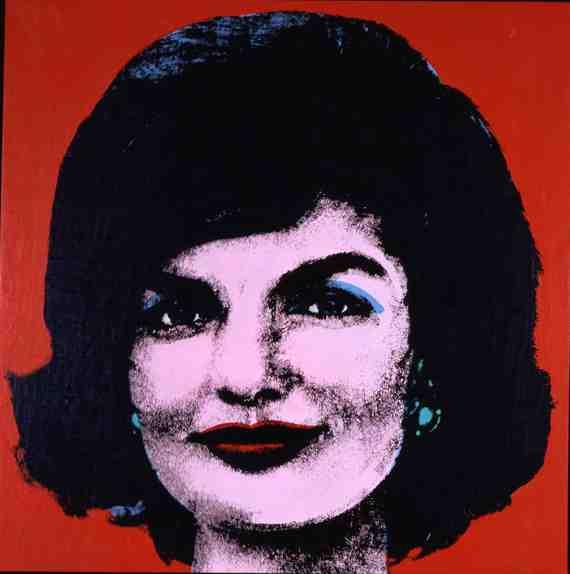 Andy Warhol: Red Jackie 7