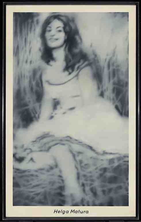Gerhard Richter: Helga Matura 8