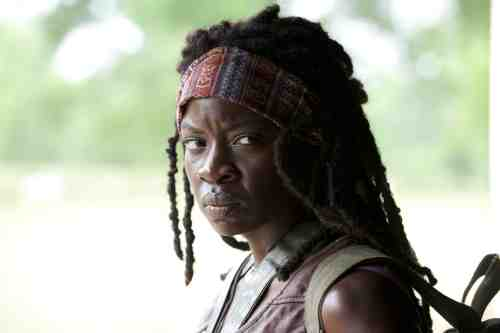 Walking Dead Season 3 Episode 1 Michonne CU