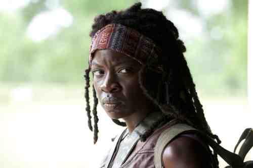 Walking Dead Season 3 Episode 1 Michonne CU