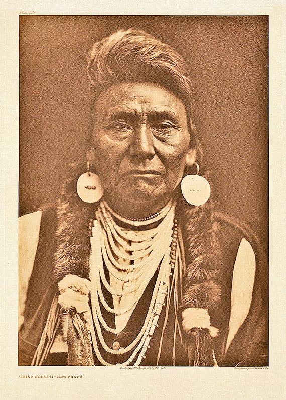 Edward S. Curtis: Chief Joseph