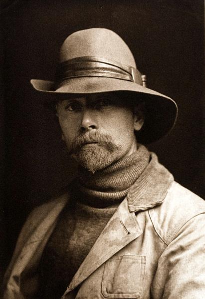 Edward S Curtis: Self Portrait