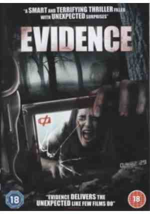 Cover for Howie Askins film Evidence