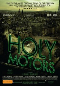 Movie poster: Holy Motors