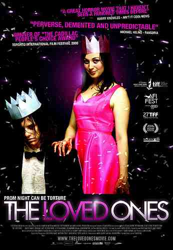 Promotional image for Sean Byrne's The Loved Ones
