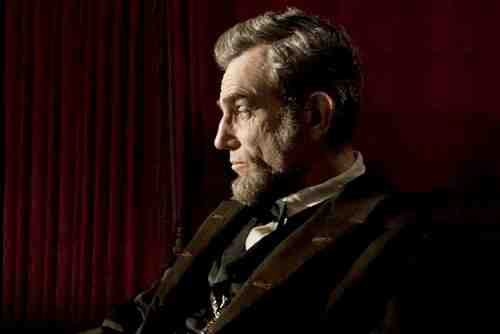 Daniel Day-Lewis as Abraham Lincoln in Lincoln