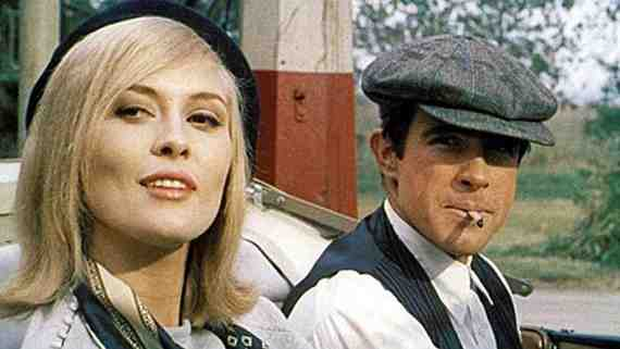 Movie still: Bonnie and Clyde