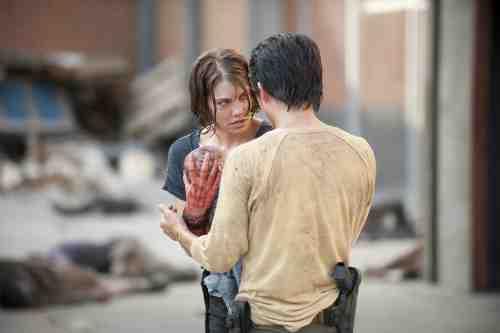 Walking Dead Glenn Maggie Baby