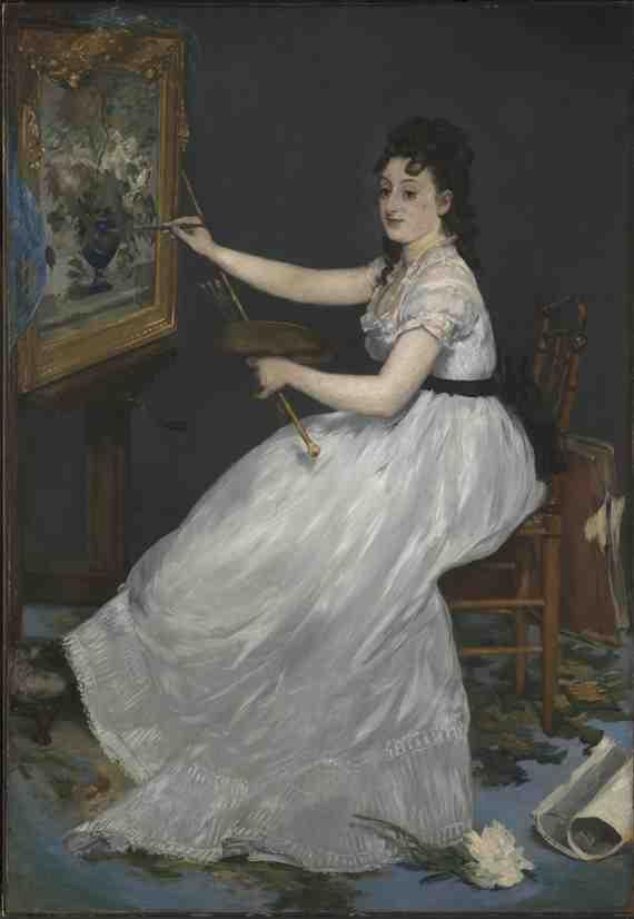 Édouard Manet: Eva Gonzalès