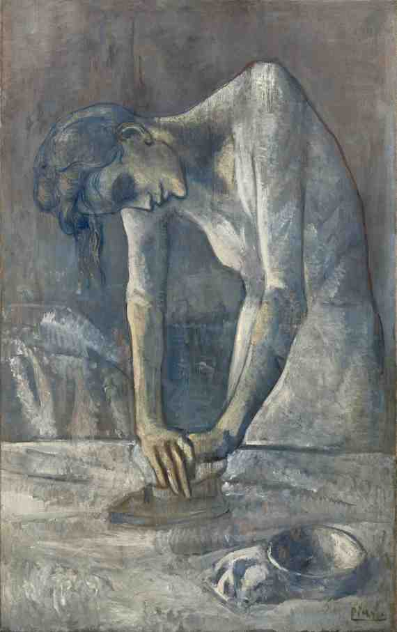 Picasso: Woman Ironing