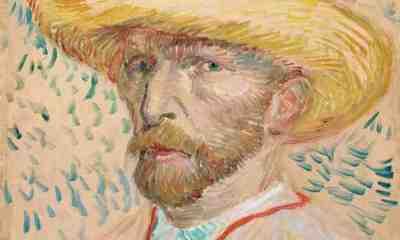 Vincent van Gogh: Self-Portrait with Straw Hat
