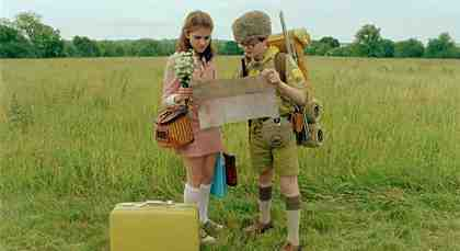 MOONRISE KINGDOM, from left: Kara Hayward, Jared Gilman, 2012.