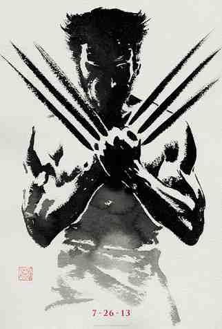 The poster for James Mangold's The Wolverine