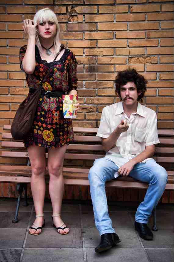 CLR Street Fashion: Chana and Lufe in Brazil
