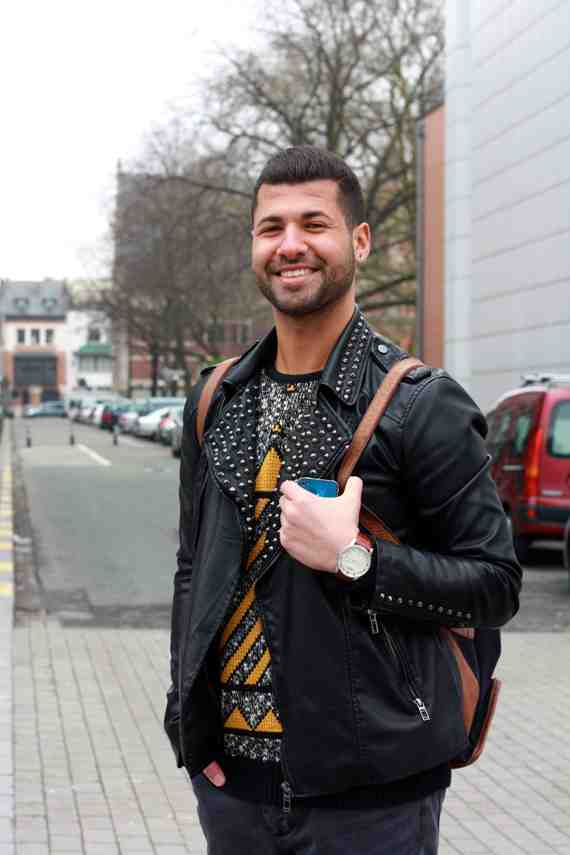 CLR Street Fashion: Hassan in Brussels