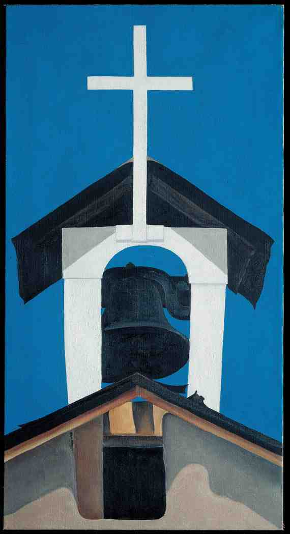Georgia O'Keeffe: Church Steeple