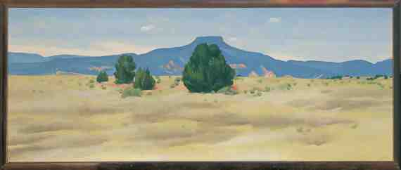 Georgia O'Keeffe: Ghost Ranch Landscape