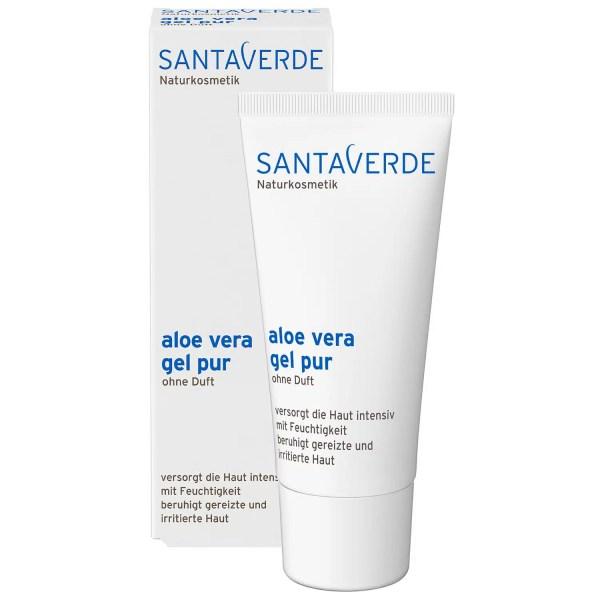 Santaverde Naturkosmetik Aloe Vera gel pur ohne Duft