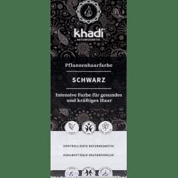 Khadi Pflanzenhaarfarbe Schwarz