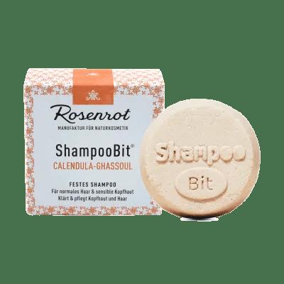 Rosenrot ShampooBit Shampoo Bit Calendula Ghassoul
