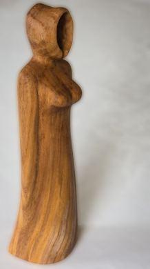 Hooded Figure in Elm