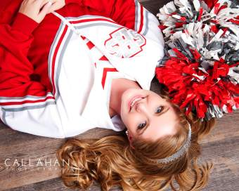 cheer senior pics