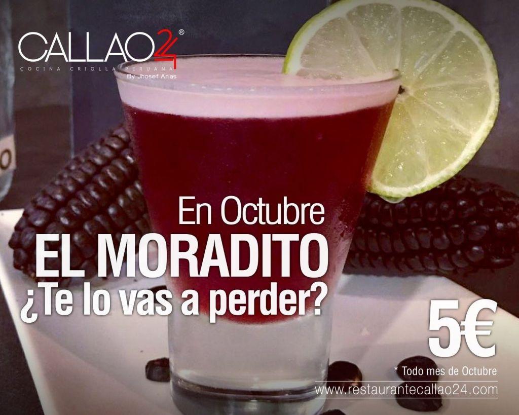 Moradito Chicha Sour Pisco Sour con Chicha Morada en Callao24
