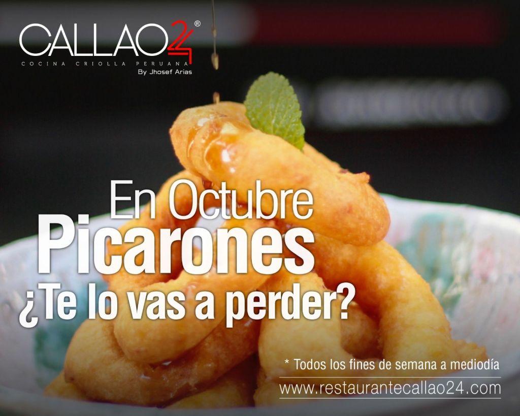 Picarones en Callao24 #DulcesPeruanos