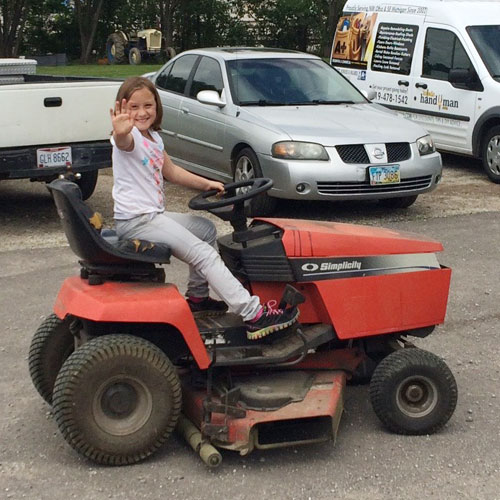 Lawn and Garden Tractor Repair & Maintenance