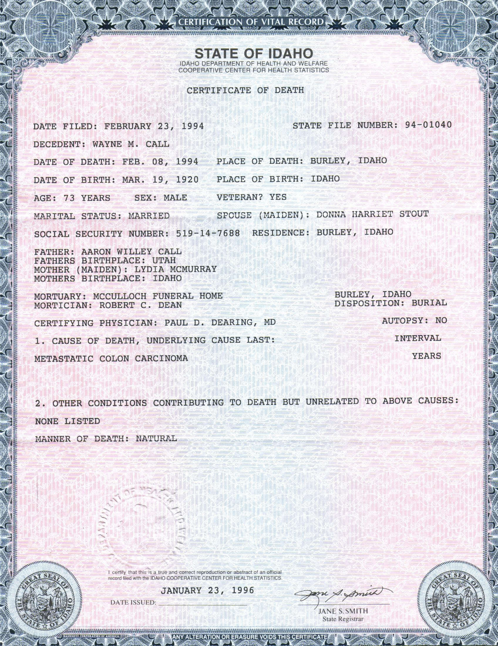 Create Your Own Birth Certificate