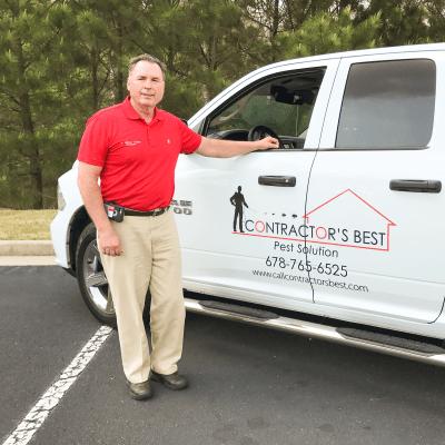 Contractors Best Pest Solutions employee