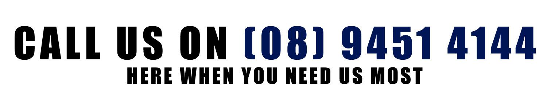 Call Us on 08 9451 4144