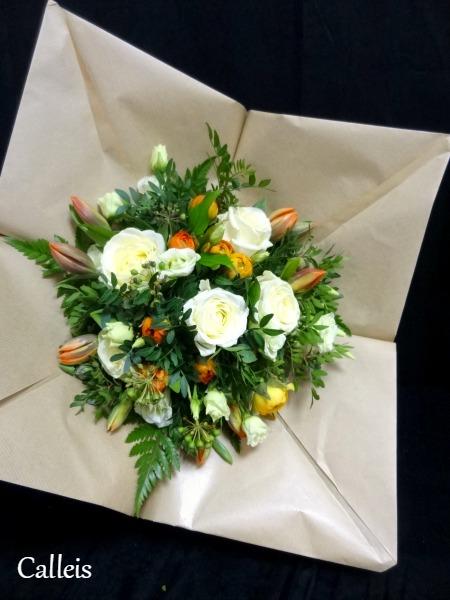 bouquet demi-sphère