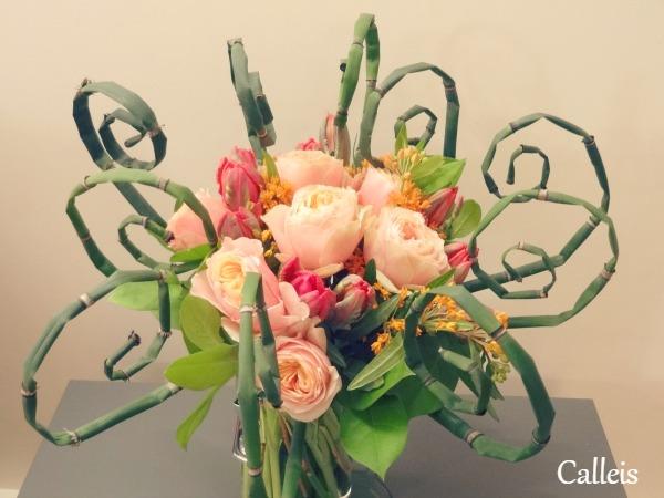 bouquet emprisonné