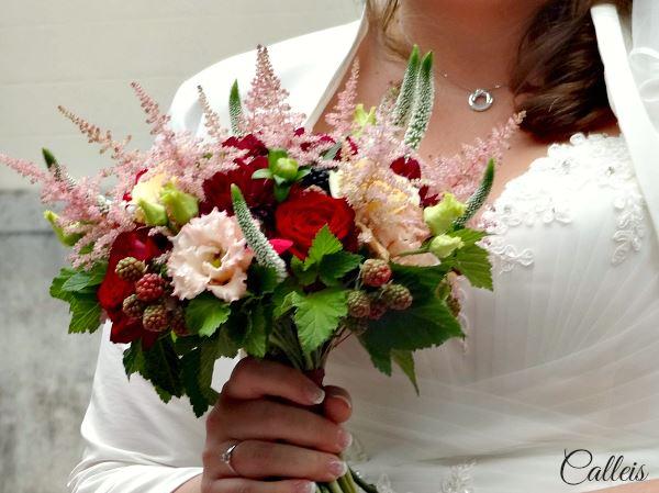 bouquet mariage burgundy