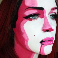 Halloween Makeup - Abstracto